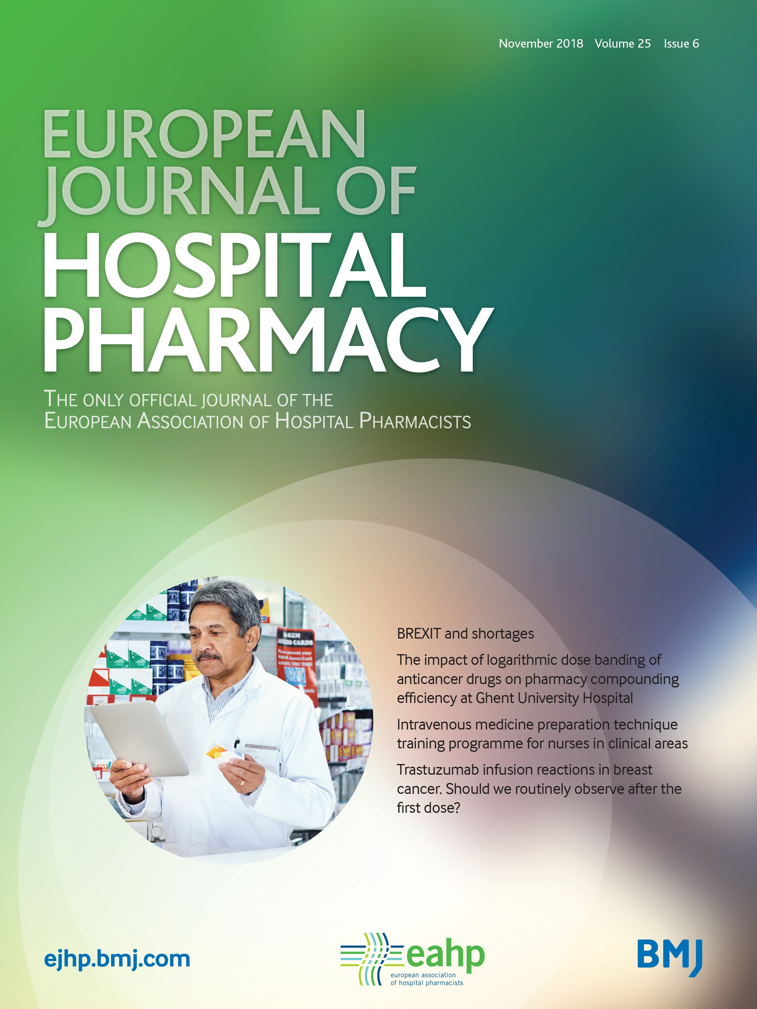 Trastuzumab infusion reactions in breast cancer. Should we routinely  observe after the first dose? | European Journal of Hospital Pharmacy