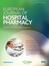 European Journal of Hospital Pharmacy: 23 (4)